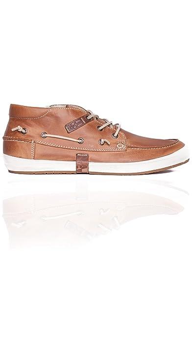 retro exclusieve deals klassiek Napapijri Bootsschuh Sneaker Oslo 0684370 Cognac