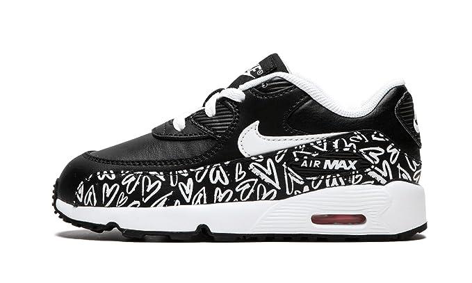: Girls' Nike Air Max 90 Print Leather (TD