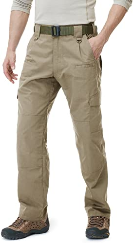 CQR Men's Tactical EDC Assault Cargo Pants