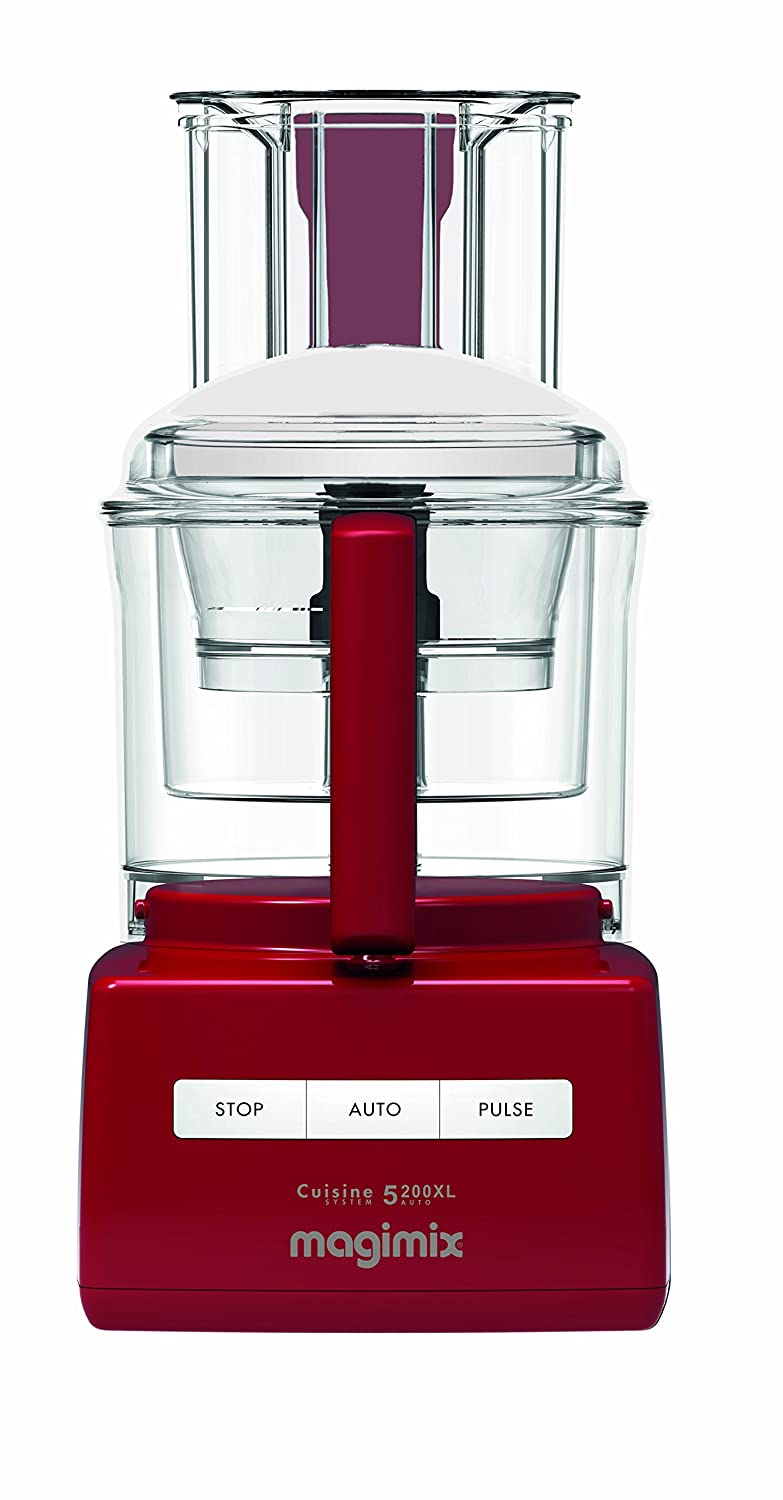 Magimix 5200xl food processor red amazon kitchen home forumfinder Images