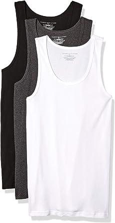 Tommy Hilfiger Mens 3-Pack Cotton A-Shirt Underwear