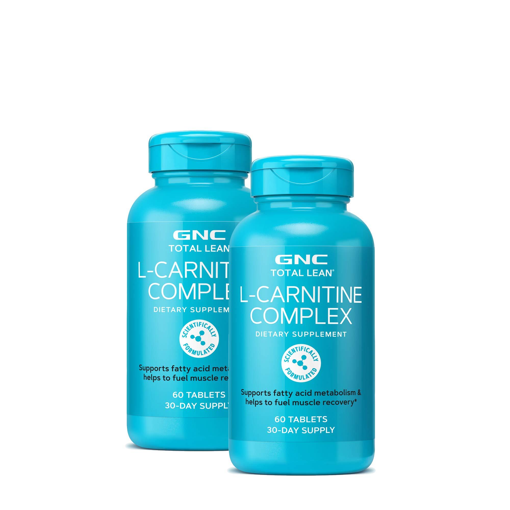 GNC Total Lean L-Carnitine Complex - Twin Pack