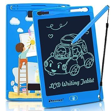Amazon.com: PROGRACE - Tableta de escritura LCD para niños ...