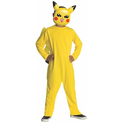 Pokemon Child's Pikachu Costume - One Color - Large: Toys & Games