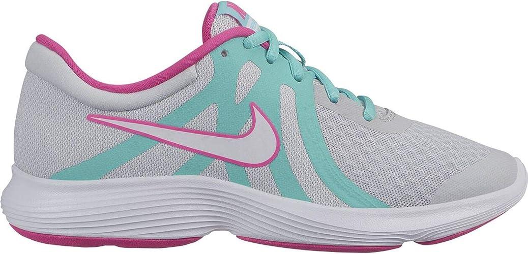 Nike Revolution 4 Aqua (GS), Zapatillas de Atletismo para Mujer ...