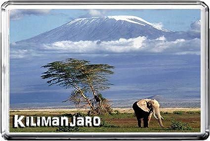 TANZANIA ATTRACTIONS REFRIGERATOR MAGNET 054 KILIMANJARO AIMANT POUR LE FRIGO TANZANIA LANDMARKS