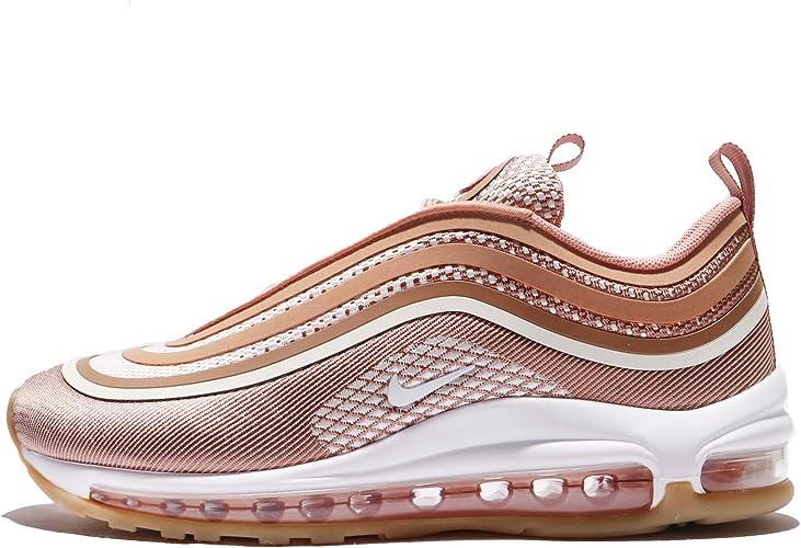 air max 97 rosa e oro