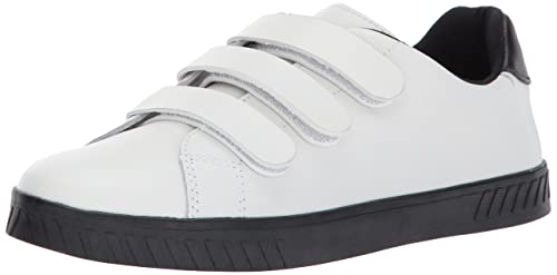 bc9b3edbfeca8 Tretorn Women's CARRY2 Sneaker, White Leather Black Sole, 5 B(M) US ...