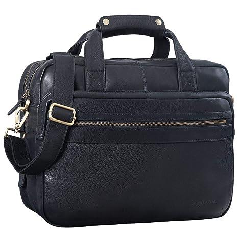 078272aed9 STILORD 'Adventure' Vintage Teacher Bag Men Women Business Bag Leather  Satchel Shoulder Bag Satchel