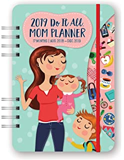 Amazon Com Mom S Family Desk Planner 2019 6 X 8 Inches