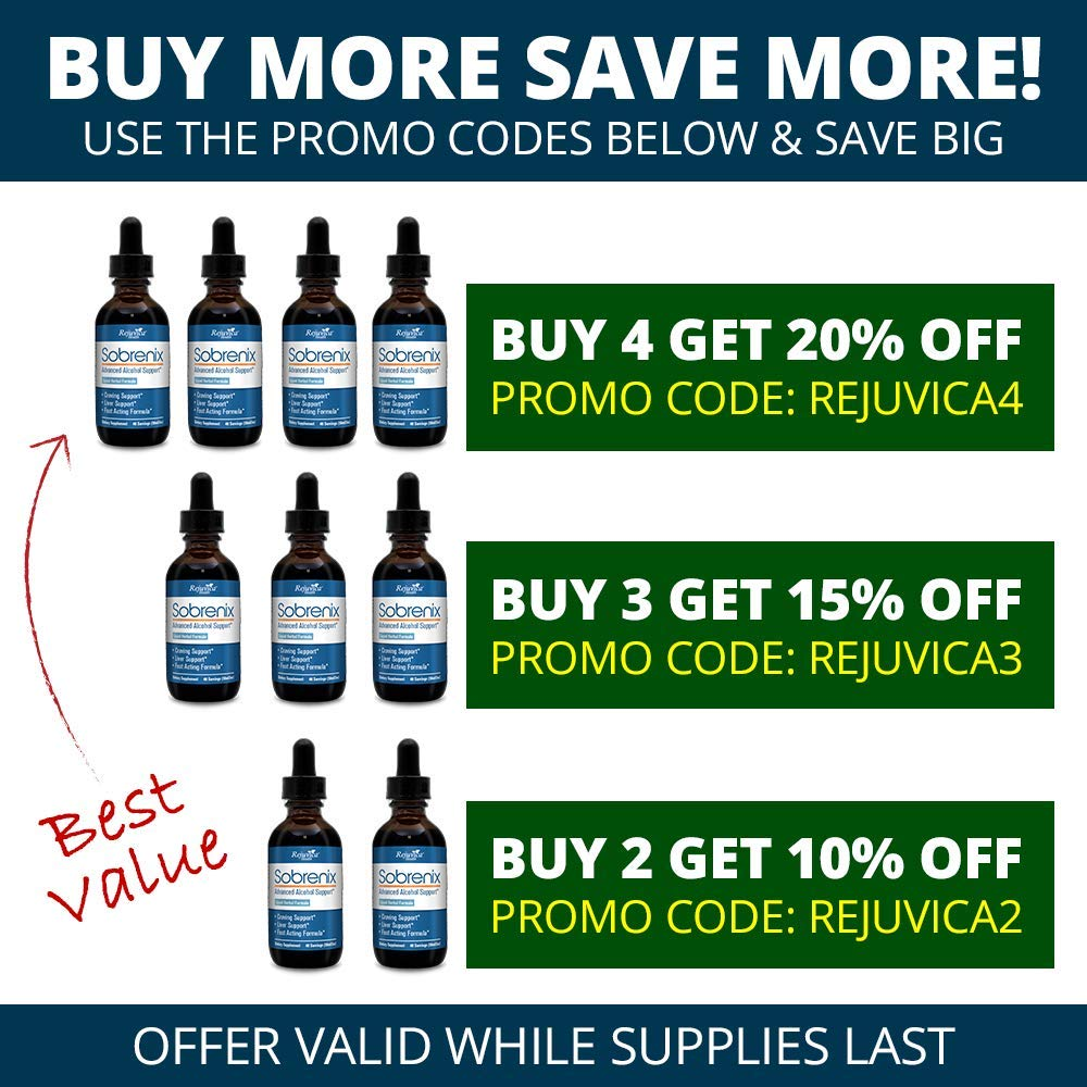 Sobrenix – Anti-Alcohol Alcohol Support Supplement All-Natural Liquid Formula for 2X Absorption Kudzu, Milk Thistle, B Vitamins More