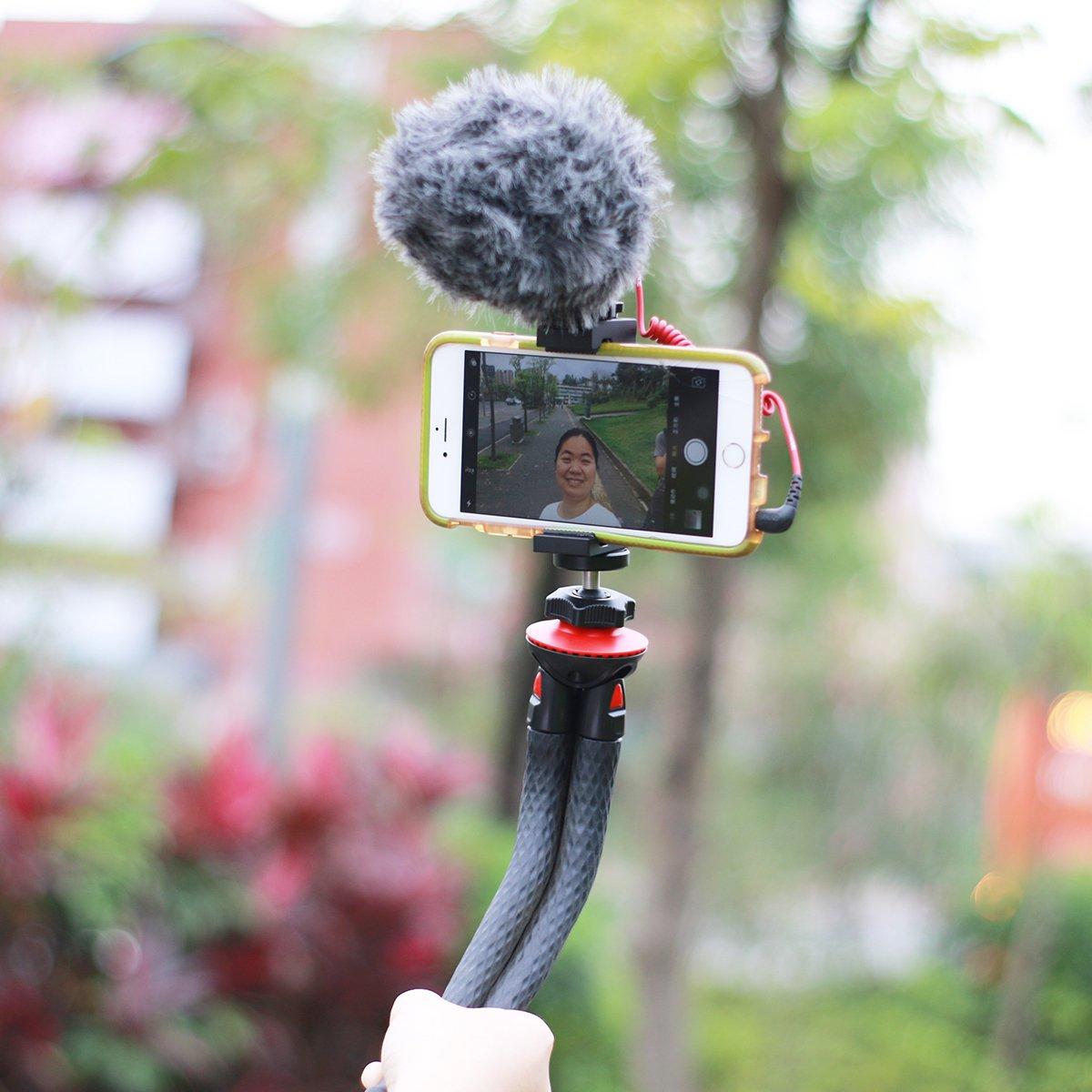 Ulanzi ll065 Metal Phone Tripod Mount with Hot Shoe Mount Iron Man 2 Pro Smartphone Holder Video Rig Tripod Mount Adapter by Ulanzi (Image #7)