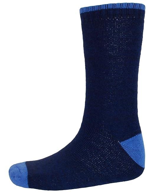 New para hombre lana Bled botas térmico elástico cojín único invierno cálido Casual calcetines: Amazon.es: Ropa y accesorios