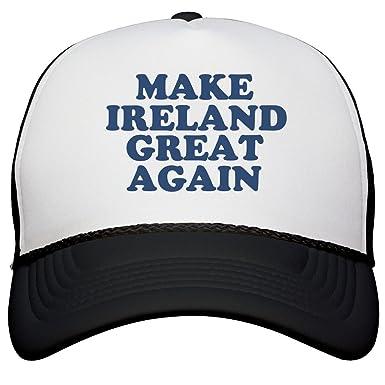 Amazon.com  FUNNYSHIRTS.ORG Make Ireland Great Again Hat  Snapback ... 12aceabb518