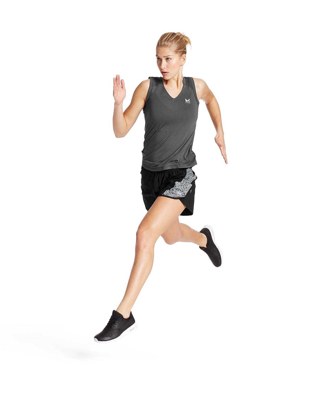 MISSION Womens VaporActive Ion 4 Training Shorts