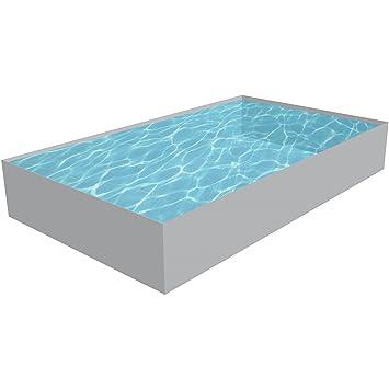 Styropor Pool Rechteckig Schwimmbecken Bausatz Hohe 150 Cm