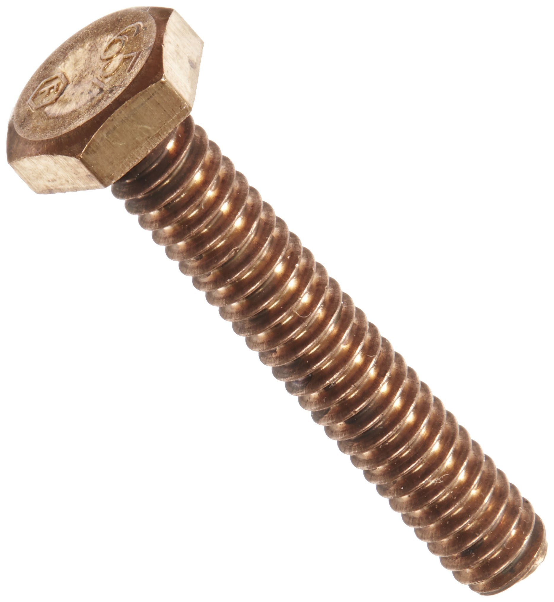 Silicon Bronze Bolt, 1/4''-20 Diameter, 1-1/2'' Length by NSI