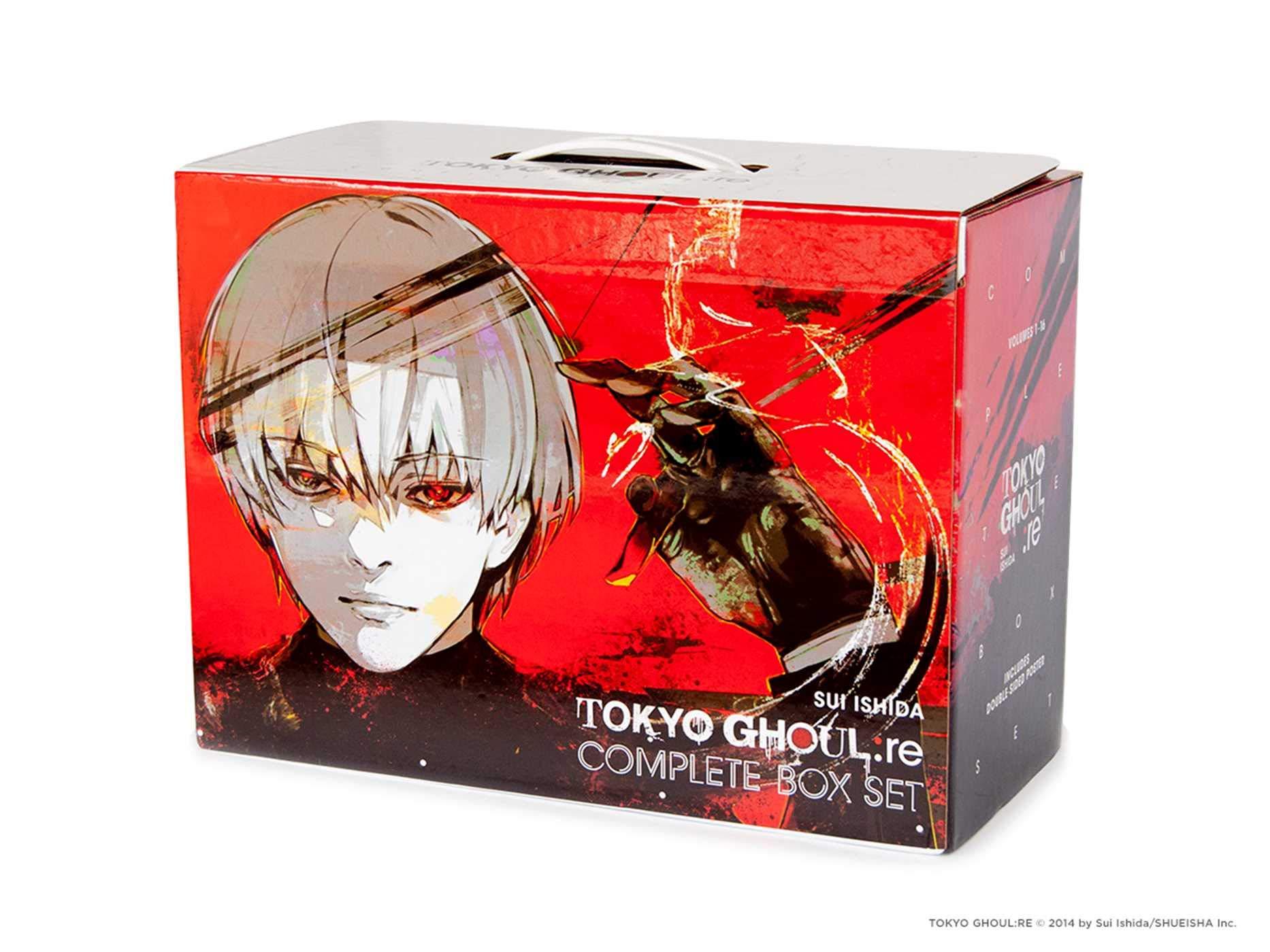 Poster Brand New Graphic Novel Tokyo Ghoul Re Manga Box Set 1-16