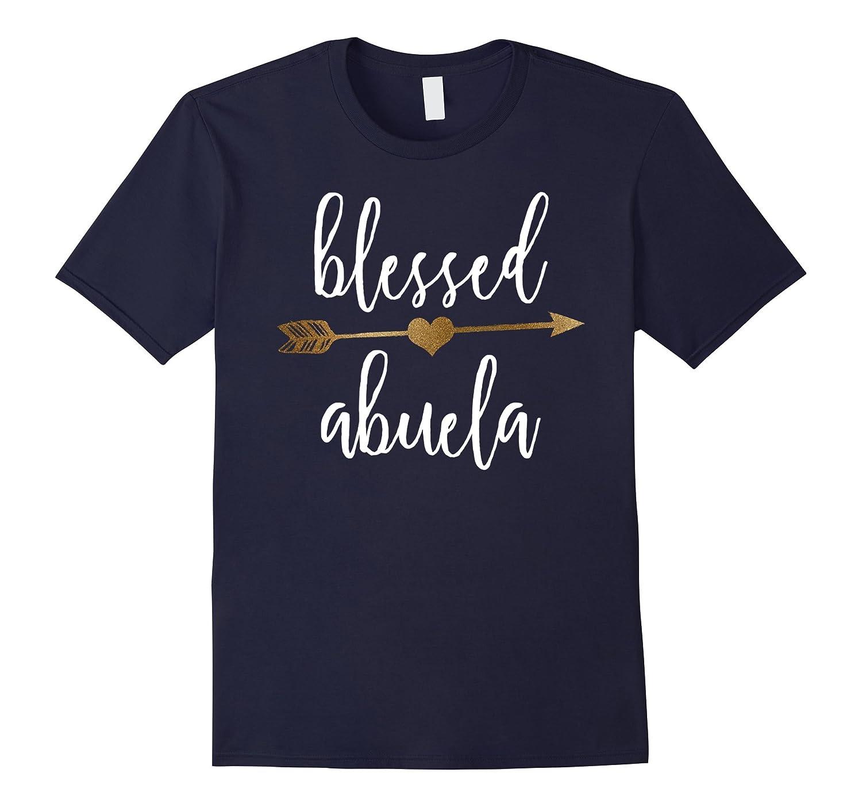Womens Arrow Blessed Abuela Thanksgiving-Awarplus