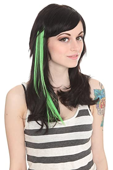 Amazon color fiend green glow in the dark hair extension 2 color fiend green glow in the dark hair extension 2 pack pmusecretfo Image collections