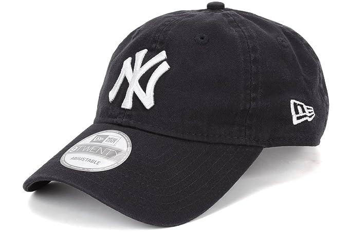 404e1a8cdb7 MLB New Era New York Yankees Garment-Washed 9TWENTY Adjustable Hat - Navy  Blue