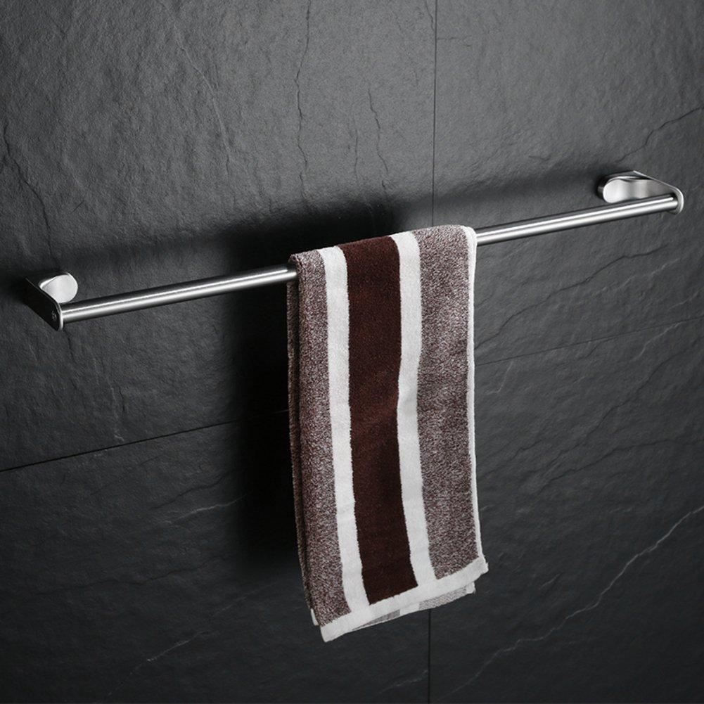 XJ&DD Acero Inoxidable del Sus 304 Toallero de, Toallero bañ o, Barra Sola Acabado Cepillado No se oxida la suspensió n de la Toalla-A 40cm(16inch) Toallero baño Barra Sola Acabado Cepillado No se oxida la suspensión de la Toalla-A 40cm(16inc