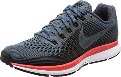 Nike Air Zoom Pegasus 34 Zapatillas de running para mujer, Azul, 9 M US