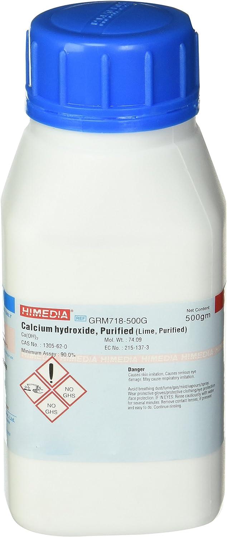 HiMedia GRM718-500G Calcium Hydroxide, Purified, 500 g