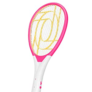 Hygiene POP Mosquito Killer Racket Rechargeable Bat Mosquito Racket for Home