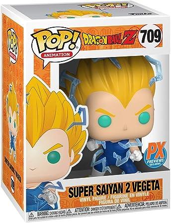 Funko Pop! Animation Dragon Ball Z: Super Saiyan 2 Vegeta Vinyl Figure PX Previews Exclusive