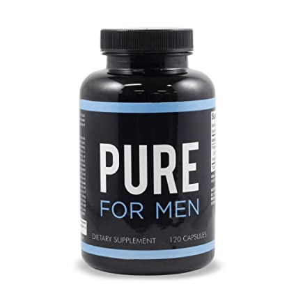 Pure For Men – 120 cápsulas de fibra alimentaria
