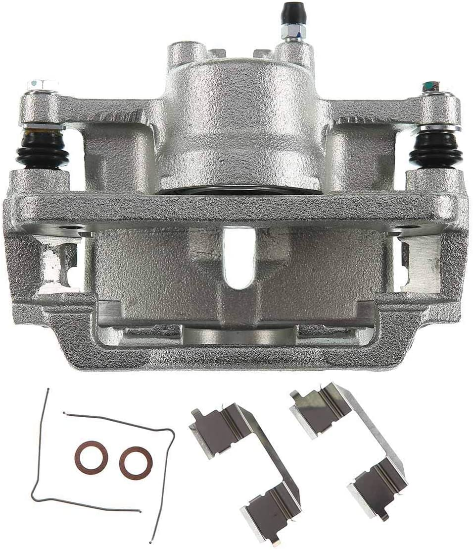 A-Premium Brake Caliper Assembly Compatible with Honda Accord 2003-2007 Front Passenger Side Not Fit the Hybrid Models