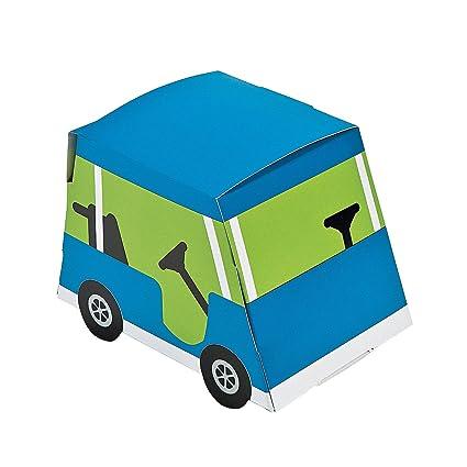 Amazon.com: Carrito de golf Party Favor cajas – 12 pcs: Toys ...