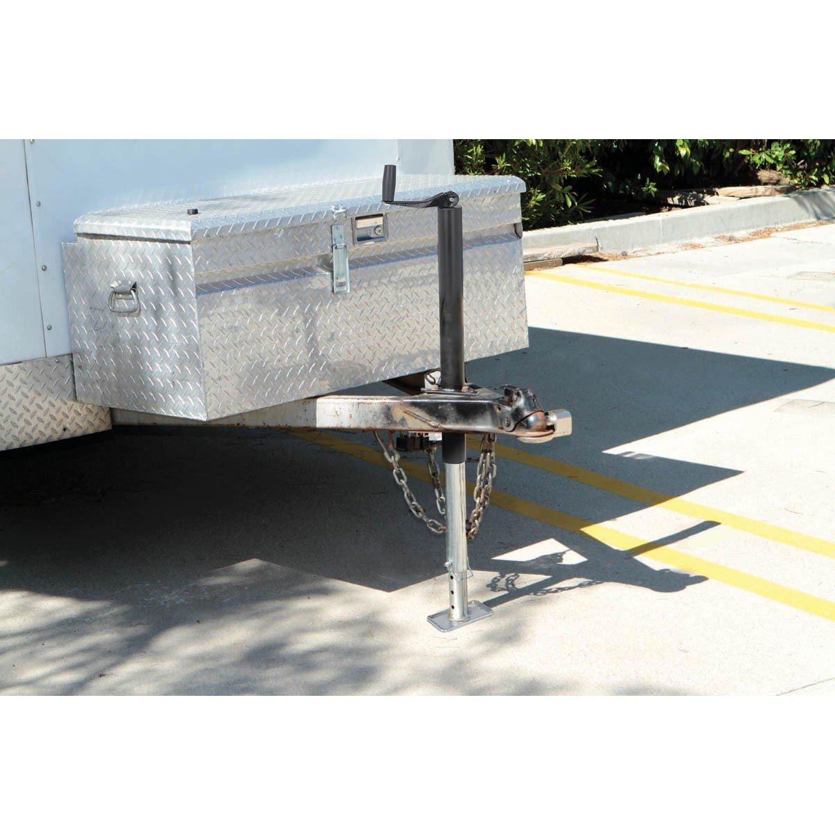 2000 Lb. Capacity Drop Leg A Frame Trailer Jack Heavy Hauls Heavy Duty Lift Holder