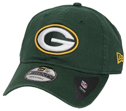 timeless design 88475 ddd0d New Era Men s Green Bay Packers 9TWENTY Core Green Hat