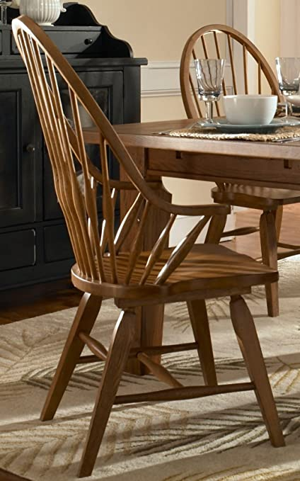 Ordinaire Broyhill 5397 84S Attic Heirlooms Dining Chairs, Natural Oak Stain