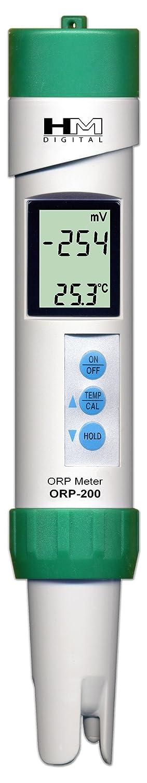 HM Digital ORP-200 - Potenziometro Redox e temperatura (resistente all'acqua)