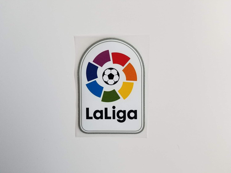 Parche LFP LA Liga FC Barcelona Real Madrid Atlético 2019 2020 Messi para Planchar: Amazon.es: Deportes y aire libre