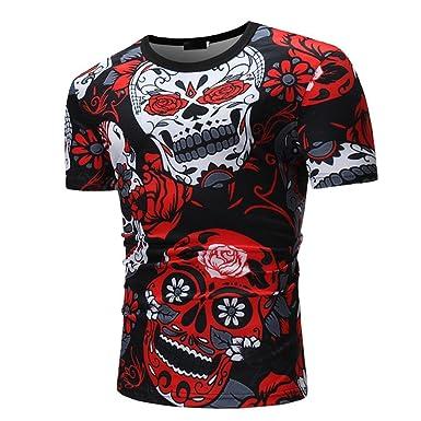 4539be308d17 Amazon.com  Elogoog Men Shirt Men s T-Shirt