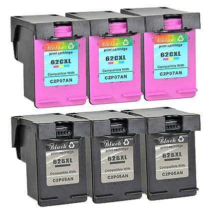 Cartuchos de Impresora Nineleaf reciclados 62XL 62 XL ...