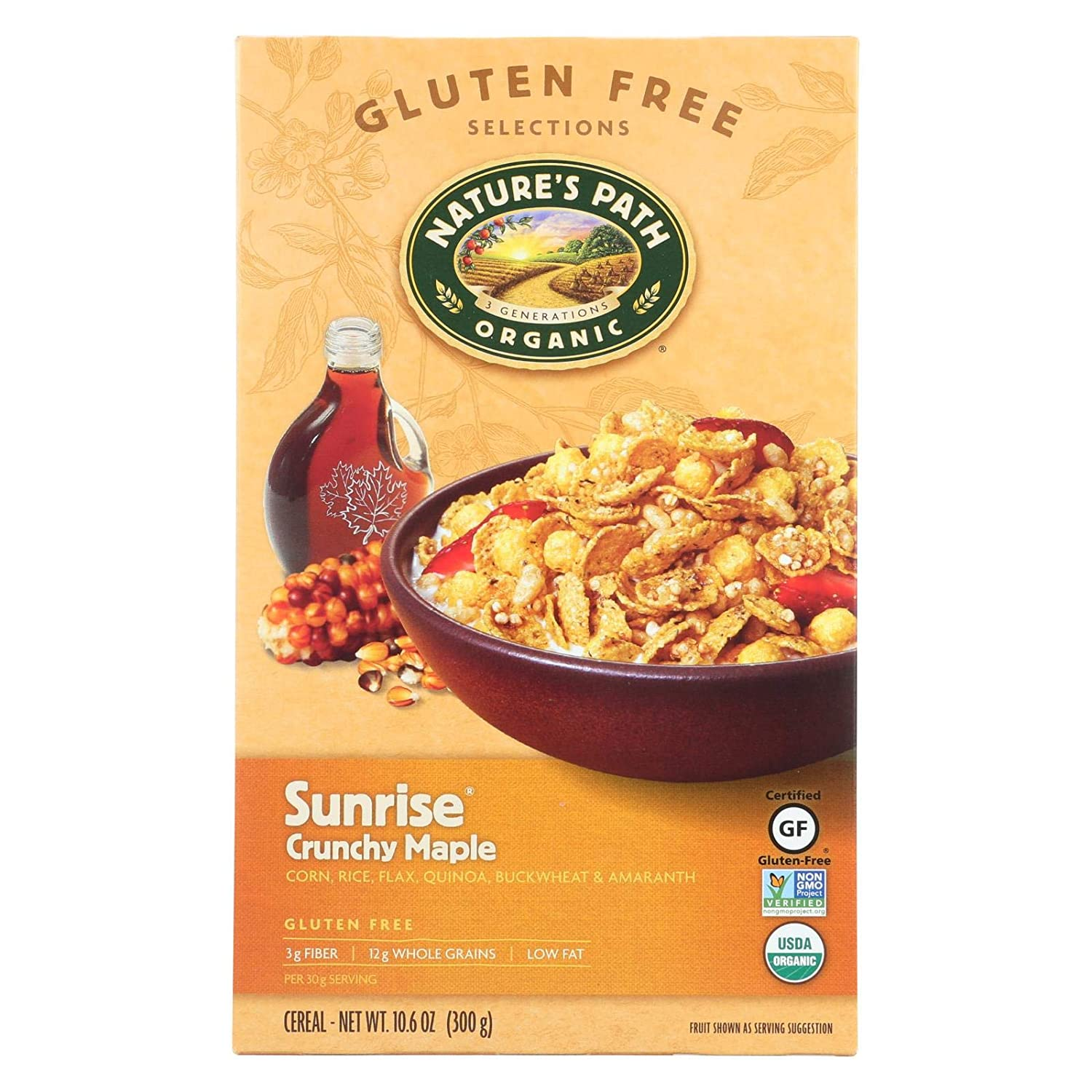 Natures Path Cereal Crnchy Mple Sunrs