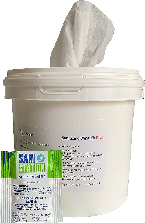 Spilfyter Sanitizing Wipe Kit Plus 94400WC