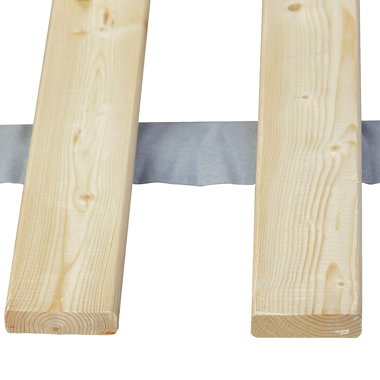 Beige Twin XL Mayton HFSB-3//3xl Vertical Wooden Bed Slats//Bunkie Board