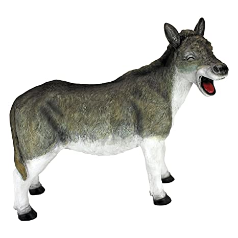 Design Toscano Laughing Donkey Statue