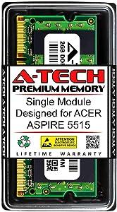 A-Tech 2GB RAM for ACER Aspire 5515   DDR2 667MHz SODIMM PC2-5300 200-Pin Non-ECC Memory Upgrade Module