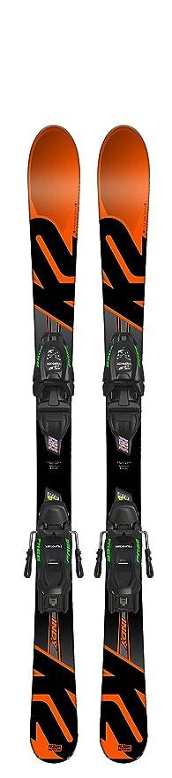 124cm K2 Indy Junior Ski FDT 4.5 Bindung 2018 Kinder Ski NEU