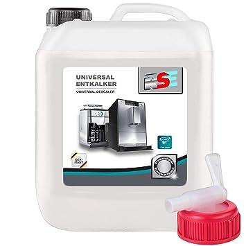 10 litros RSE Premium Universal descalcificador con grifo ...