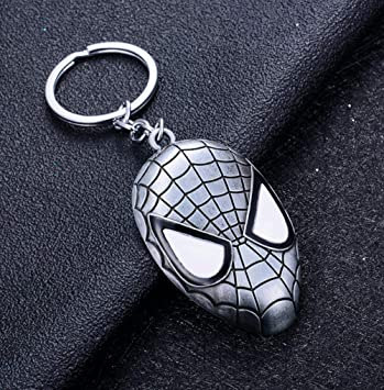 Capitán América Llavero Superhéroe Escudo Estrella Colgante ...