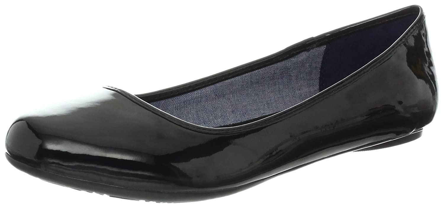 Dr. Scholl's Women's Friendly Ballet Flat B008MB1Q3Y 8 B(M) US|Black Patent