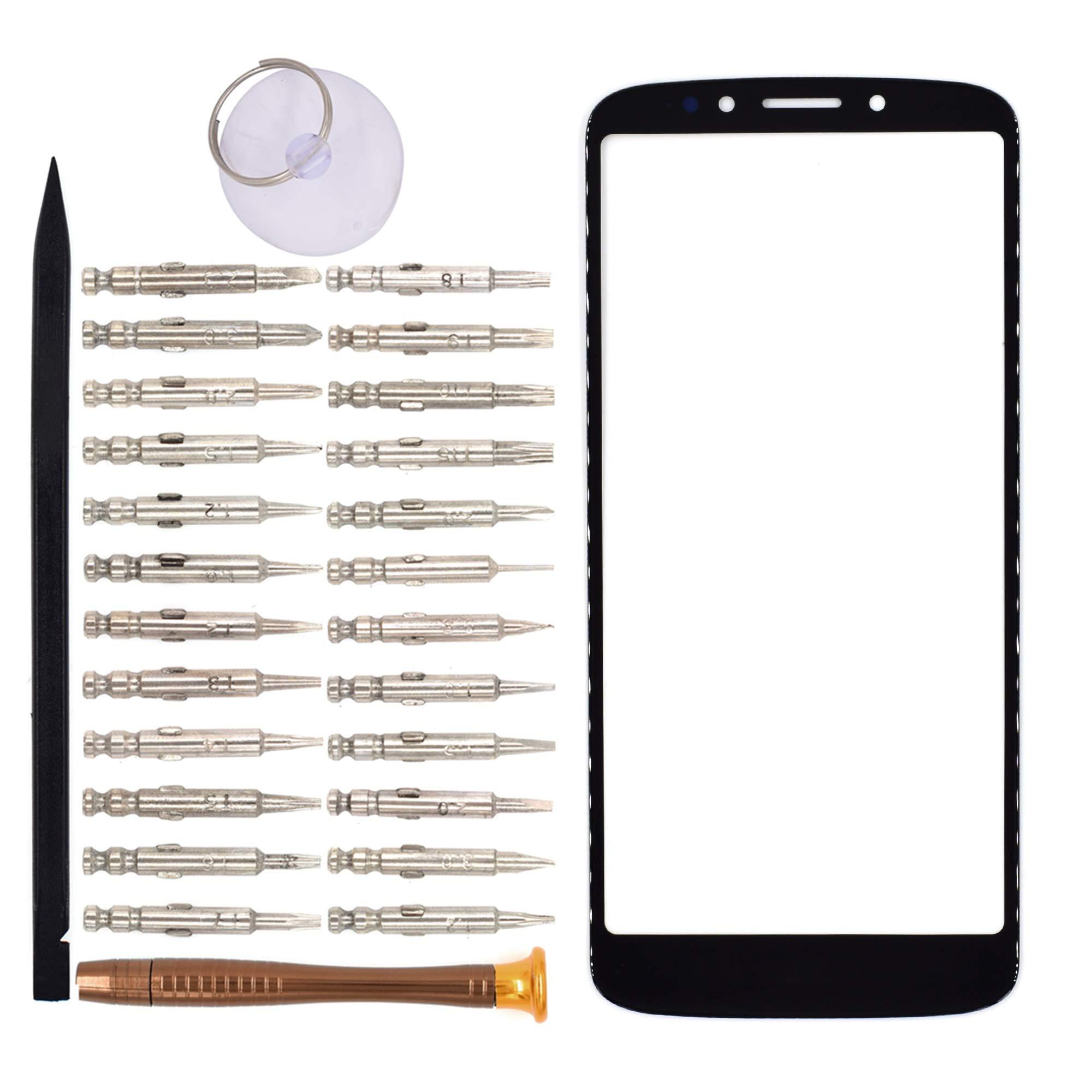 Vidrio Frente Para Motorola Moto E5 Negro [goodyitou]